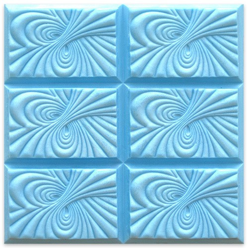 Tray Vortex Loaf Soap Mold