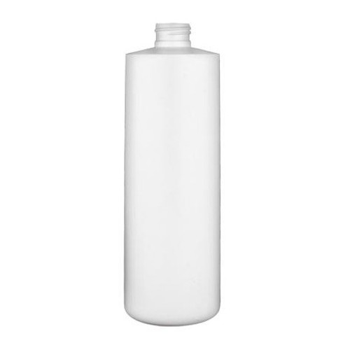 HDPE Bottle - White - 16 oz.
