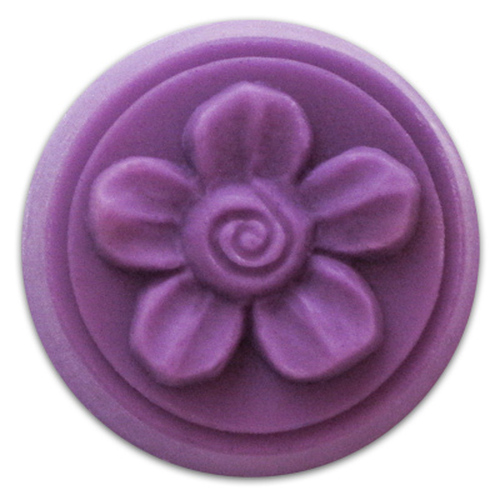 Wax Tart Spiral Flower Mold