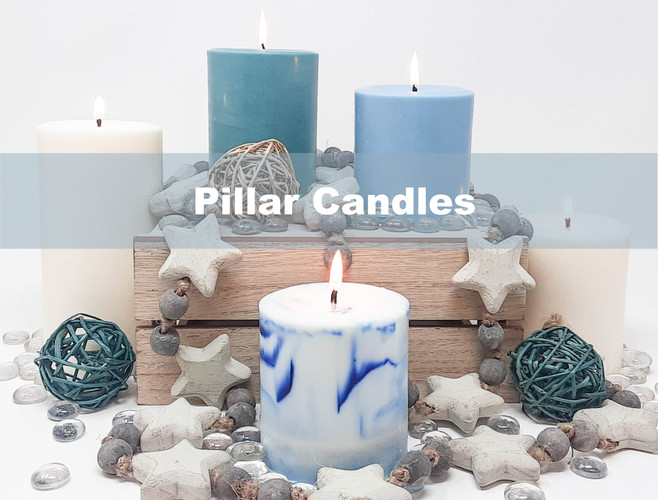 How To:  Making Pillar Candles