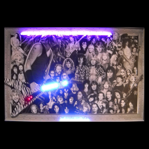 HEAVY METAL NEON/LED PICTURE