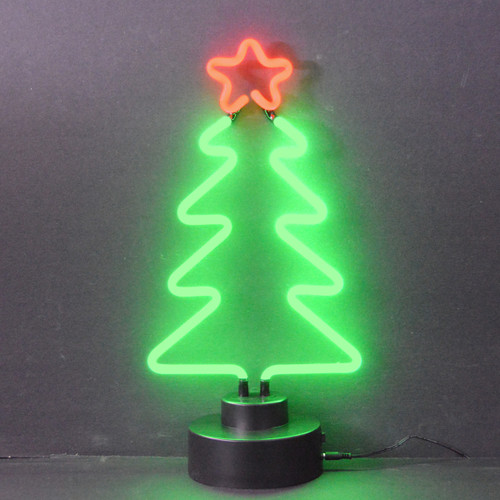 CHRISTMAS TREE NEON SCULPTURE