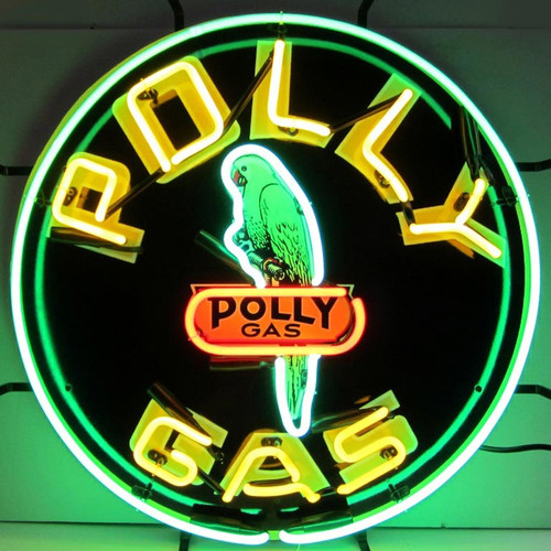 POLLY GAS NEON SIGN