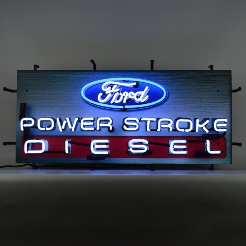 FORD POWER STROKE NEON SIGN