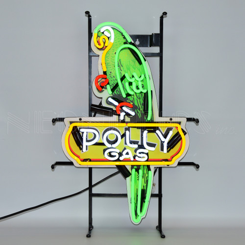 SHAPED POLLY GAS NEON SIGN