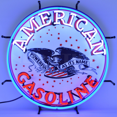 AMERICAN GASOLINE NEON SIGN