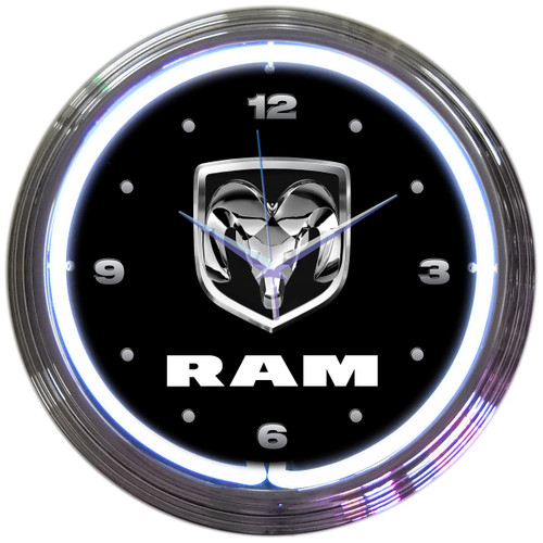 RAM NEON CLOCK