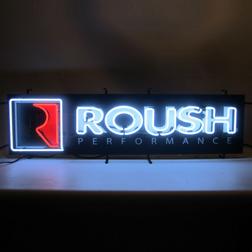 ROUSH PERFORMANCE NEON SIGN WITH BACKING (CATALOG ONLY)
