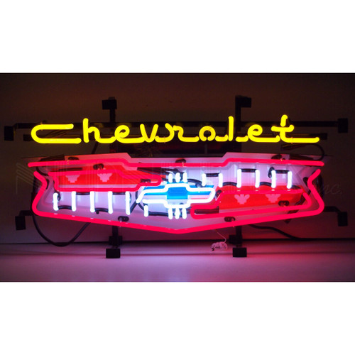 CHEVY GRILL NEON SIGN (CATALOG ONLY)