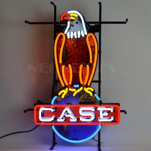 INTERNATIONAL HARVESTER – CASE EAGLE NEON SIGN