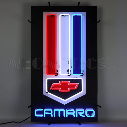 CAMARO VERTICAL NEON SIGN