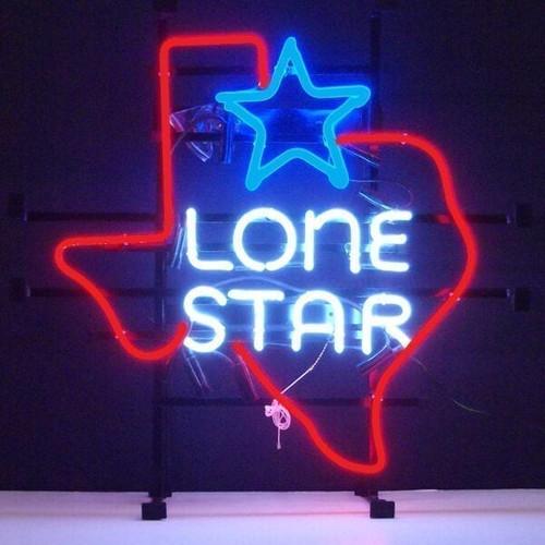 TEXAS LONE STAR NEON SIGN