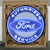 AUTHORIZED FORD SERVICE 36 INCH NEON SIGN IN METAL CAN
