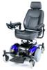 Drive Intrepid Mid-Wheel Power Wheelchair Blue