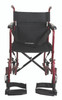 Lightweight Transport Wheelchair - Shown: TCA1916BG Burgundy