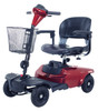 Bobcat 4 Wheel Compact Scooter *Shown in red