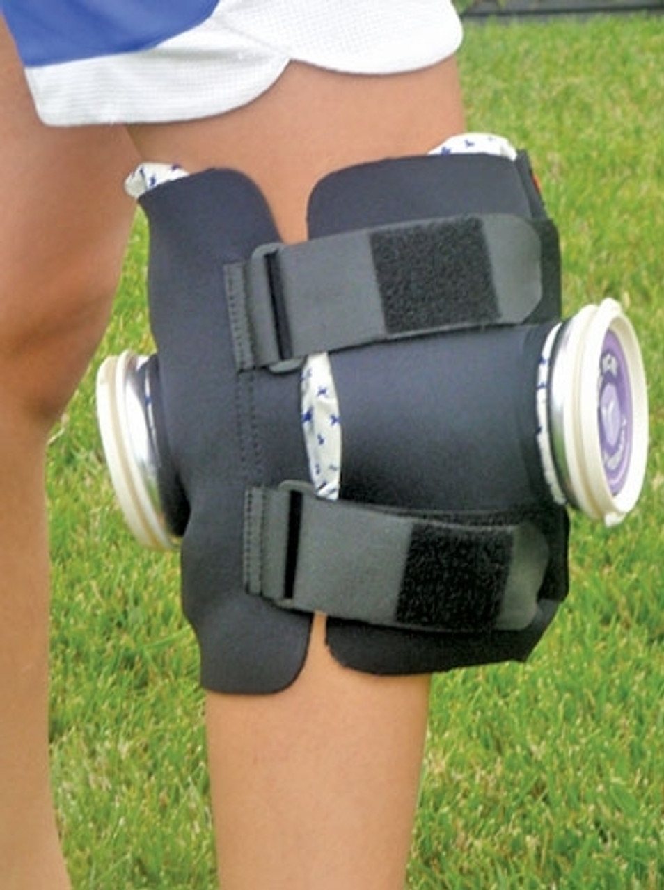 EZ Ice Wrap - Double Knee