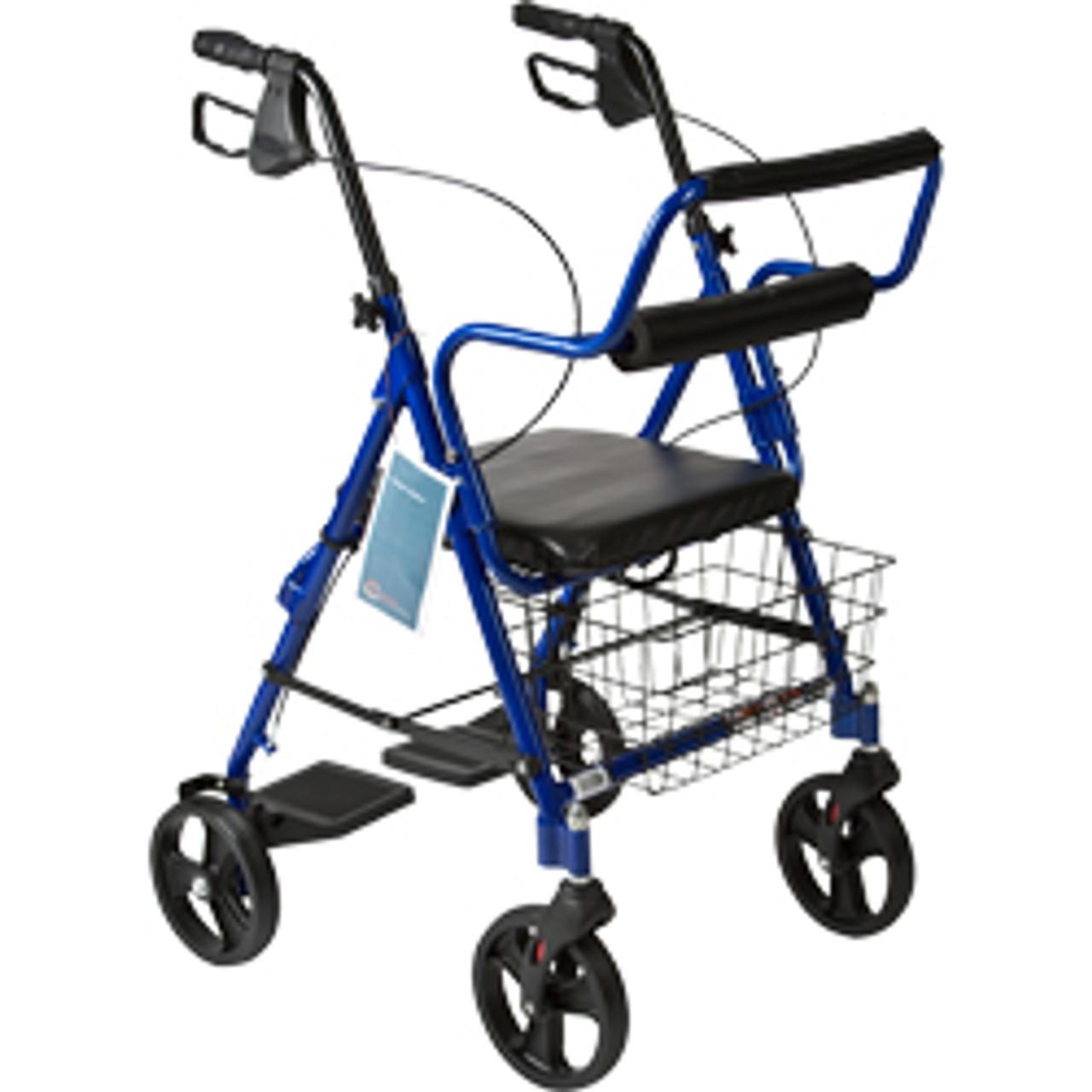 "Roscoe Companion Transport w/ 8"" Wheels Blue"