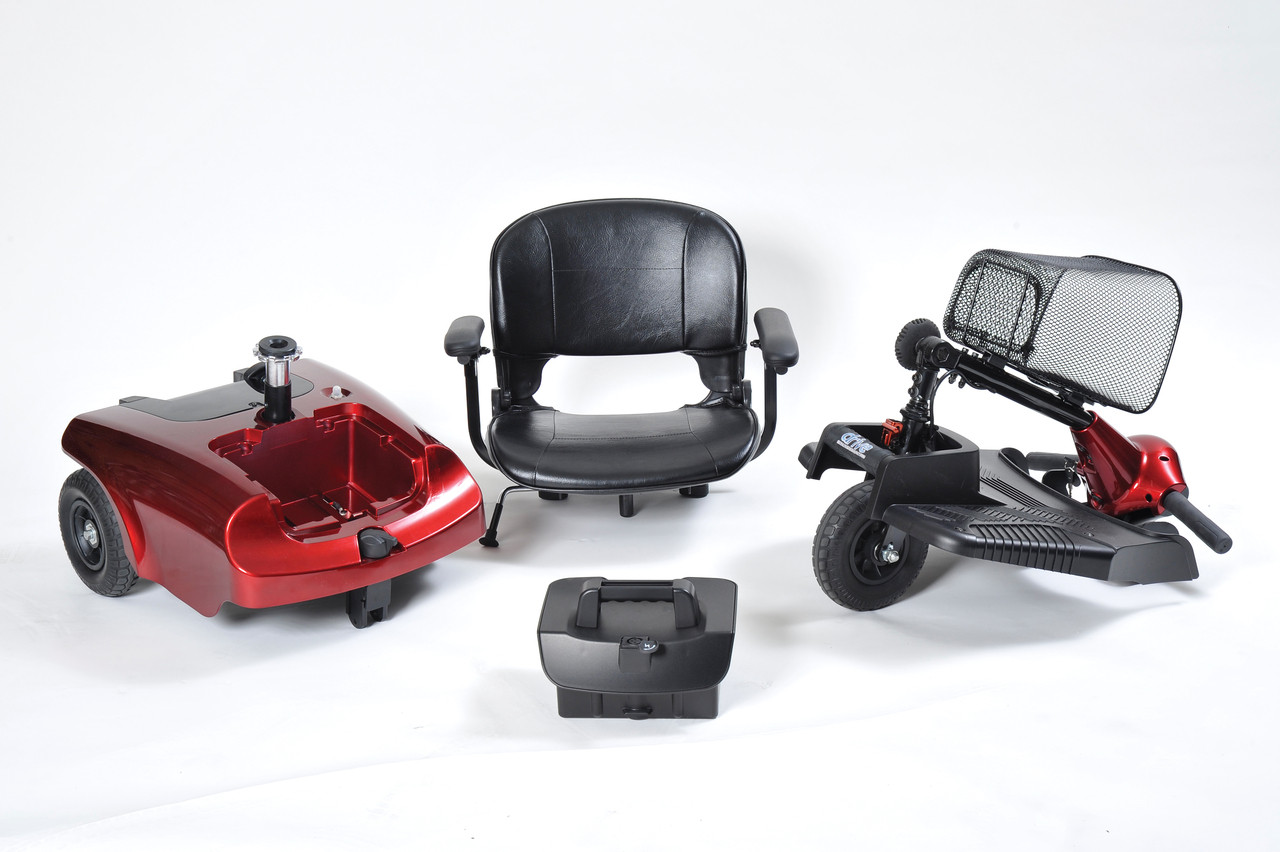 Bobcat 3 Wheel Compact Scooter disassembled