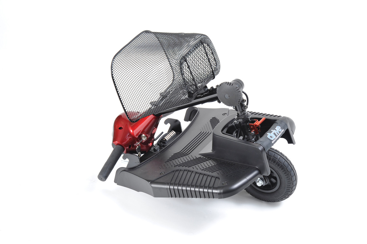 Bobcat 3 Wheel Compact Scooter Folded