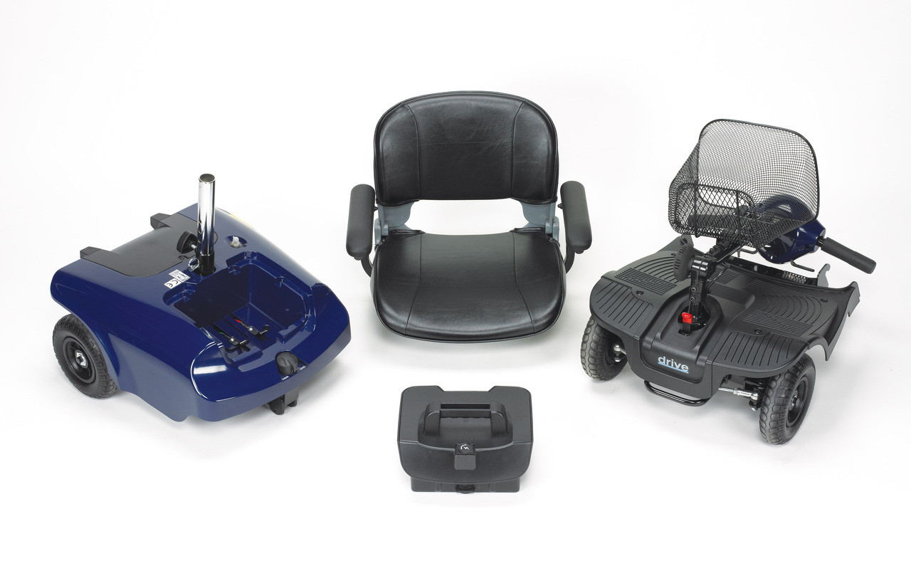 Bobcat 4 Wheel Compact Scooter disassembled