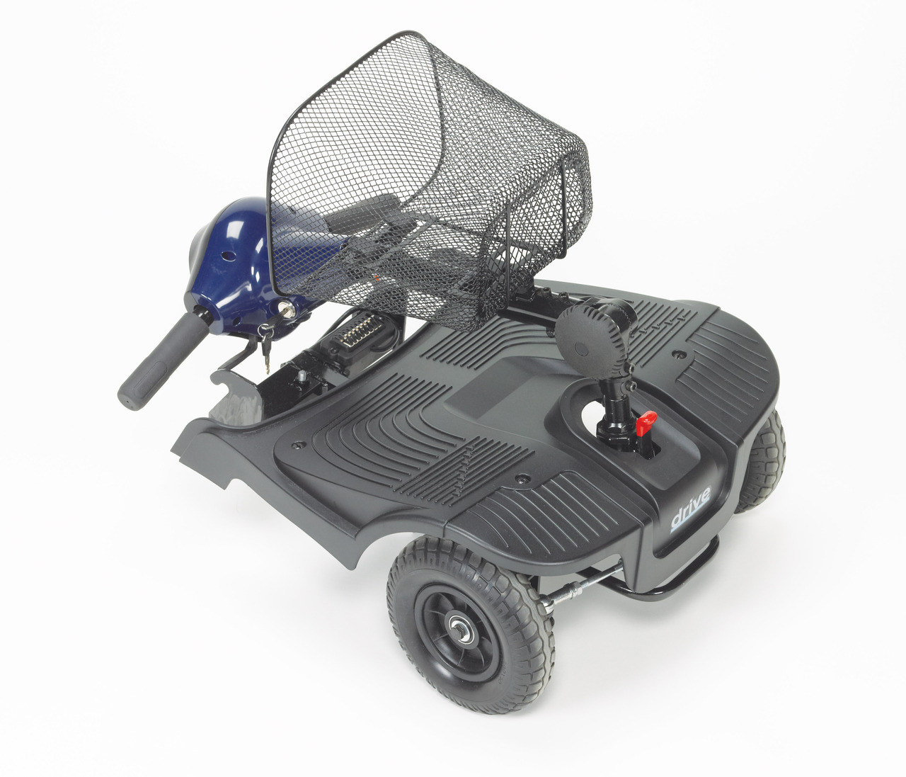 Bobcat 4 Wheel Compact Scooter folded