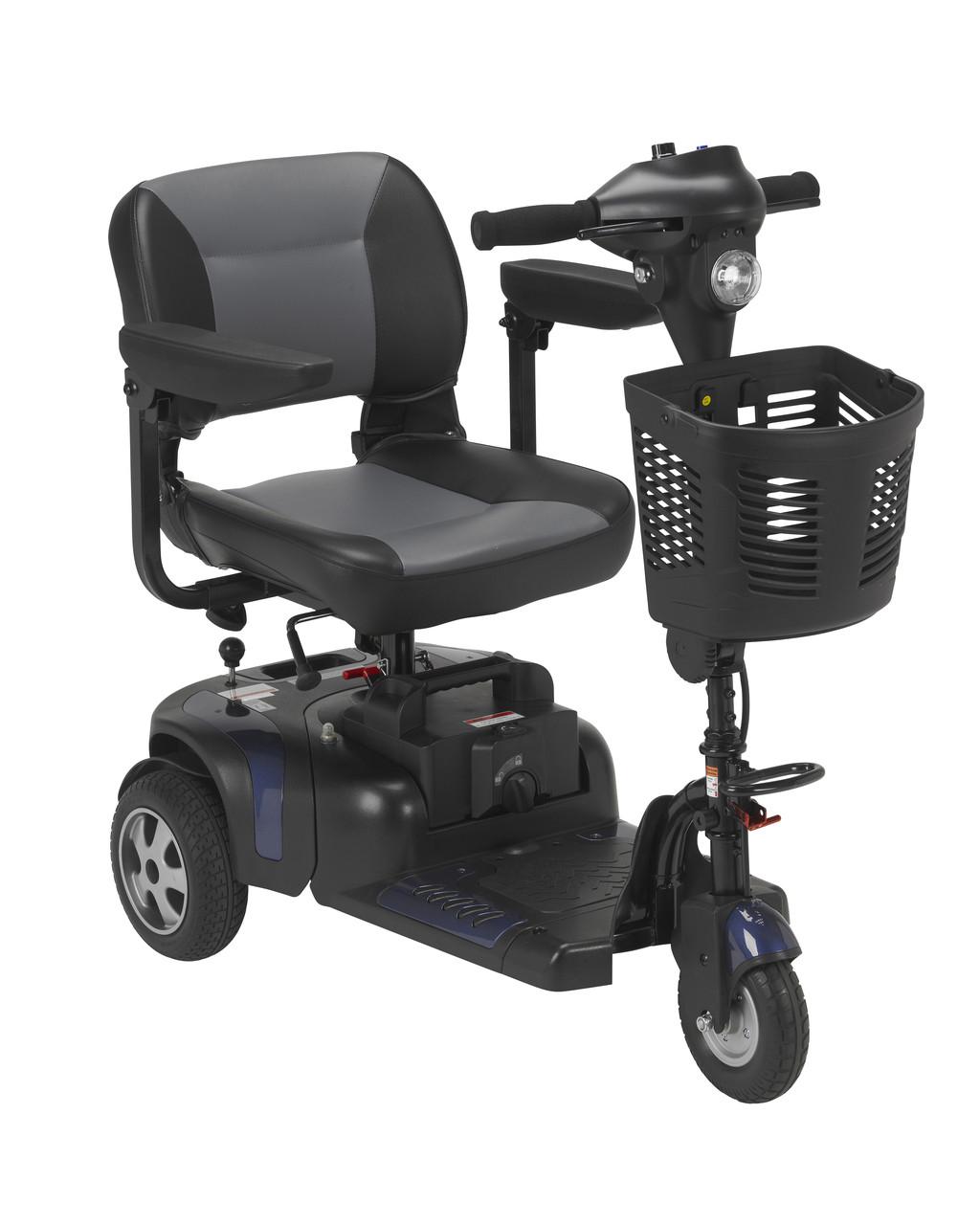 Phoenix 3 Wheel Heavy Duty Scooter Blue