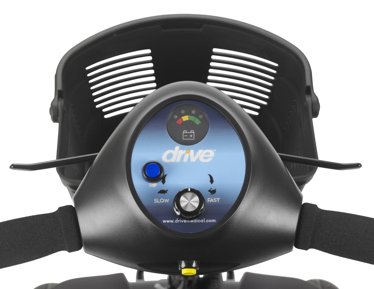 Phoenix 3 Wheel Heavy Duty Scooter Gauges