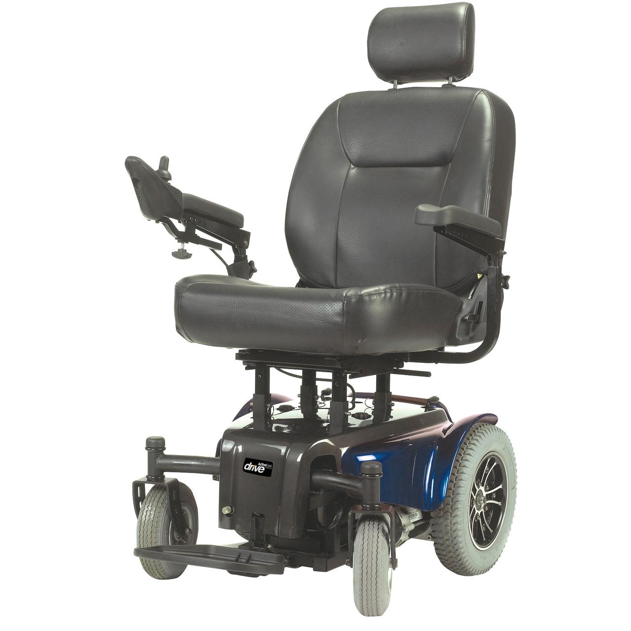 Medalist Heavy Duty Power Wheelchair Blue