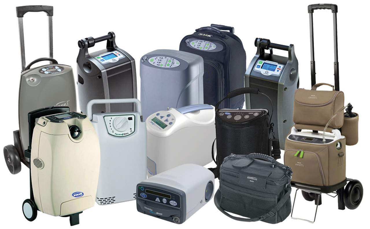 Sample of Portable Oxygen Concentrators available