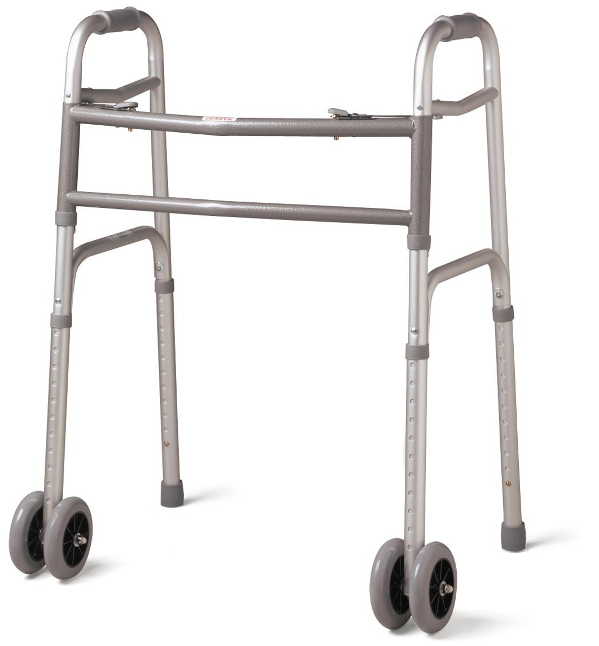 """Bariatric Folding Walker with 5"""" Wheels"""