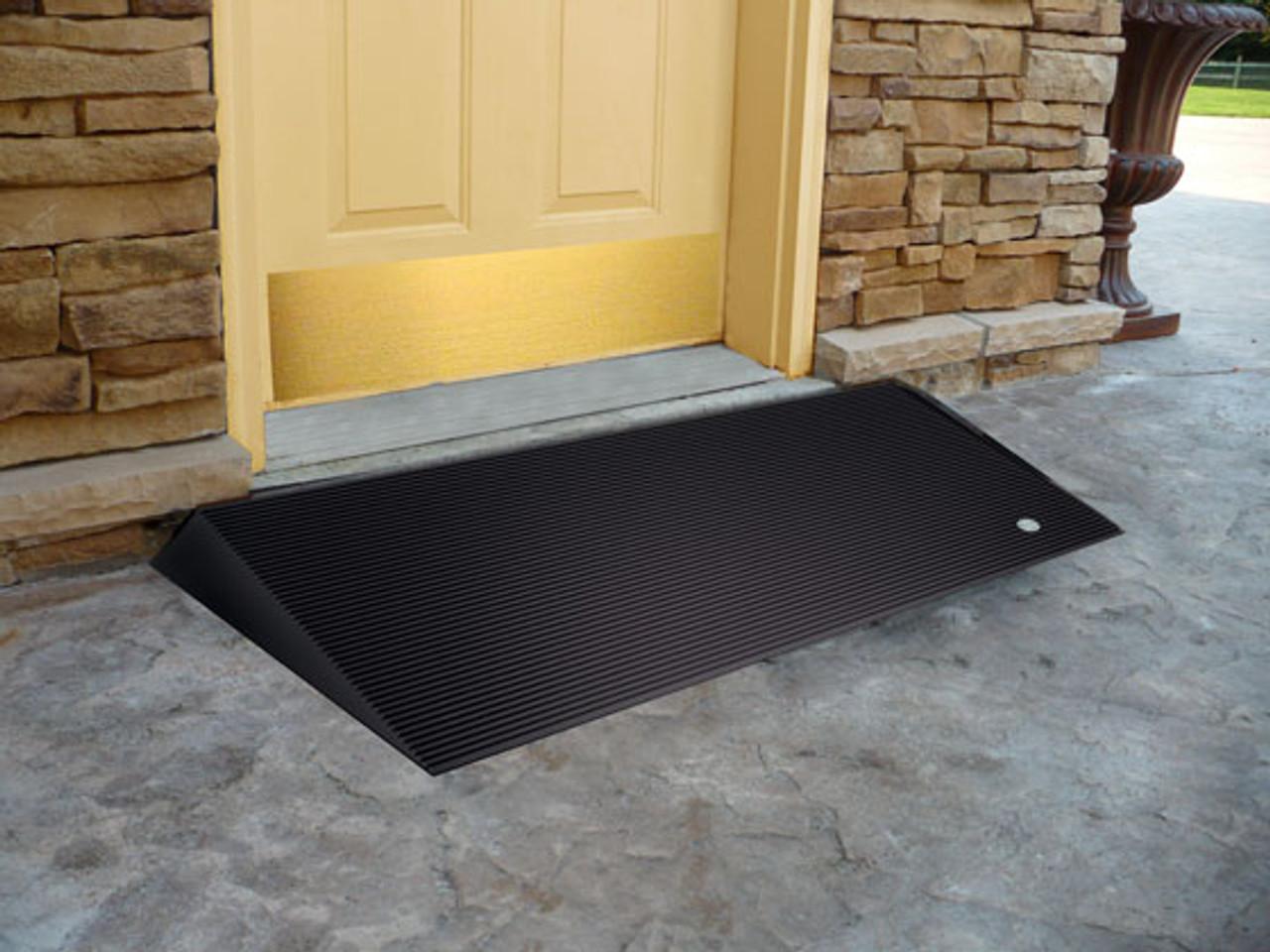 2.5 inch high entry mat a front door