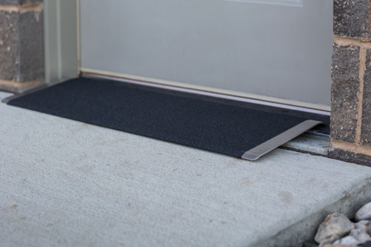 Threshold  Entry Plate at Outside Door
