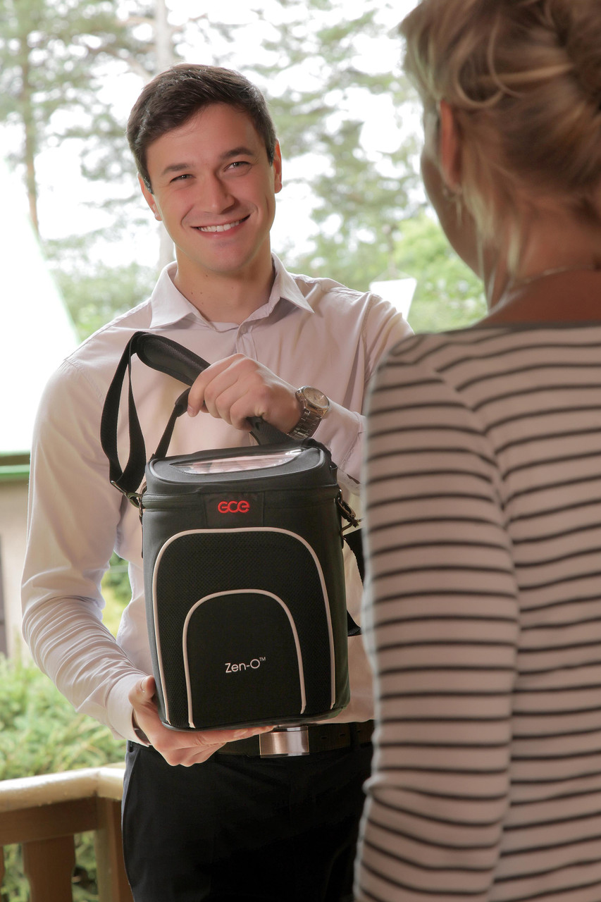 Zen-O™ portable oxygen concentrator from GCE Healthcare