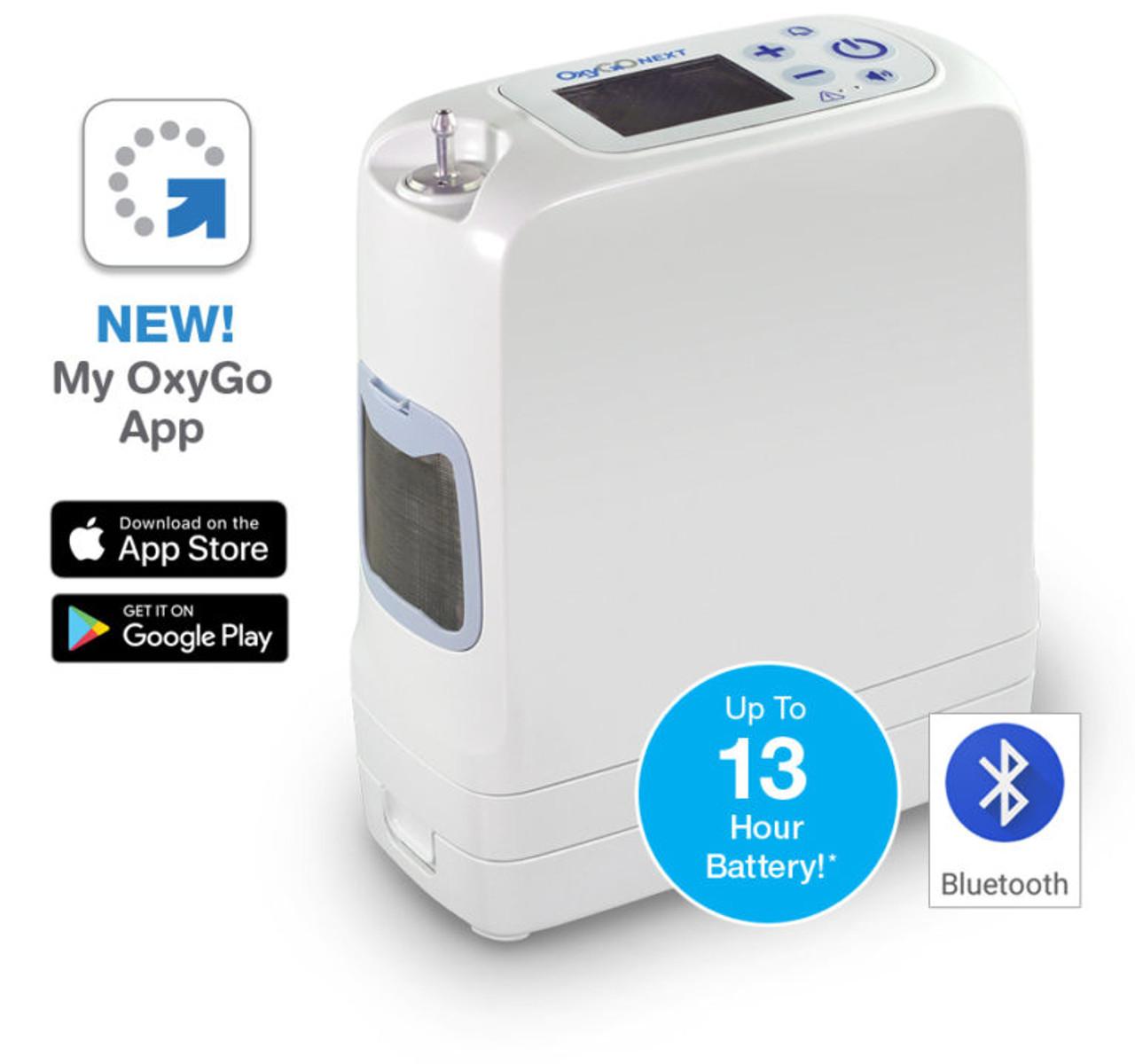 OxyGo NEXT Portable Oxygen Concentrator