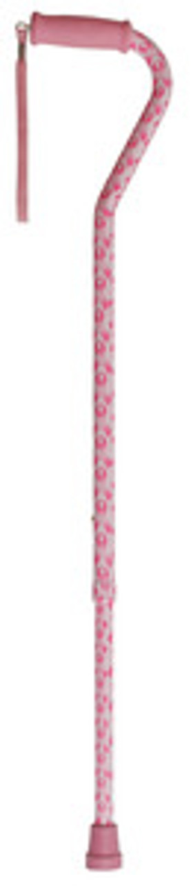 Pink Ribbon Breast Cancer Awareness Cane