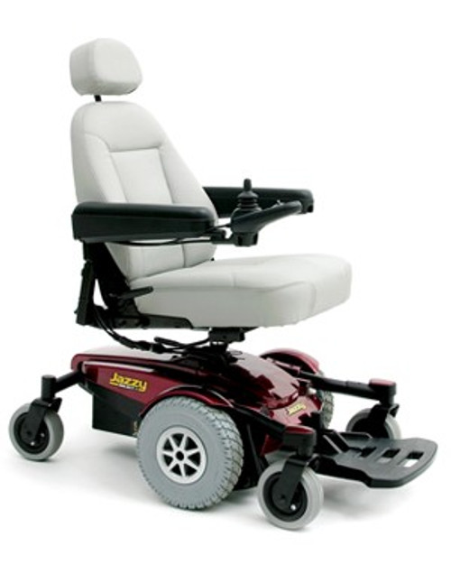 Pride Jazzy Select 6 Power Wheelchair Red