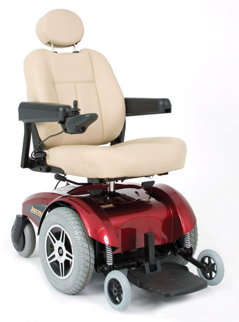 Pride Select 14 Power Wheelchair Red