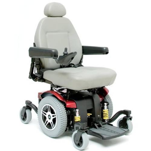 Pride Jazzy 1170XL Plus Power Wheelchair Red