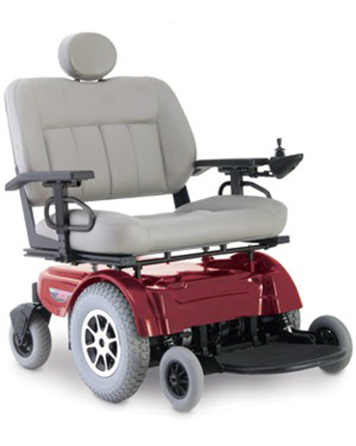 Pride Jazzy 1650 Power Wheelchair Candy Apple Red