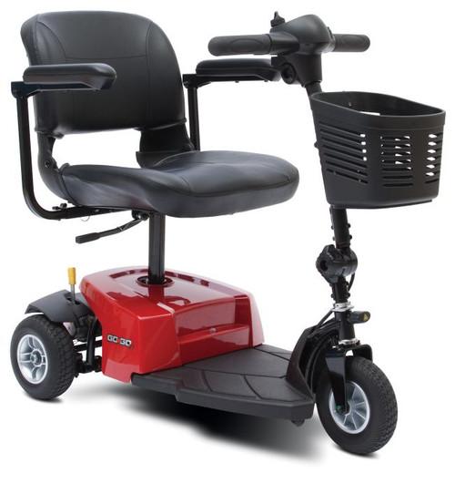 Pride Go-Go ES Scooter (3 wheel) Red