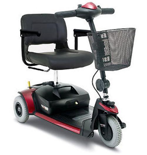 Pride Go-Go Traveller Plus Scooter (3 wheel) Red