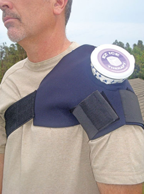 Single Shoulder Ice Wrap