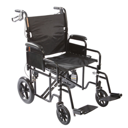 Roscoe Heavy Duty Transport Wheelchair - Shown: KT2212B