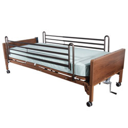 Roscoe Semi Electric Bed w/ Full Length Rails. * Mattress not included