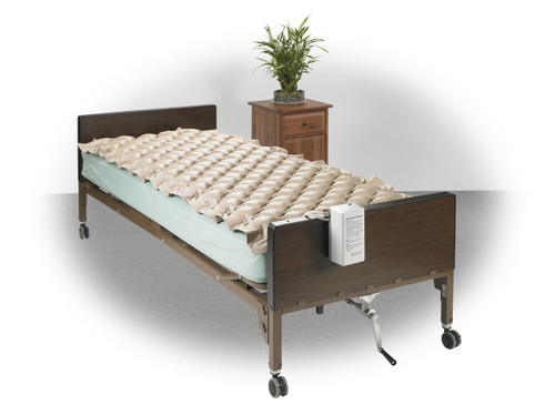 Drive Med Aire Alternating Pressure Pump and Pad System on bed