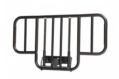 Drive No Gap Half Length Side Bed Rails with Brown Vein Finish