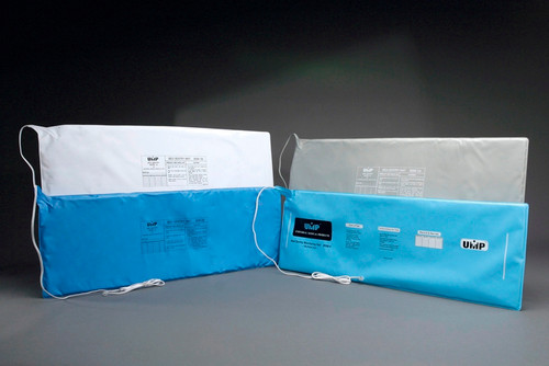 Patient bed alarm pressure sensor pads