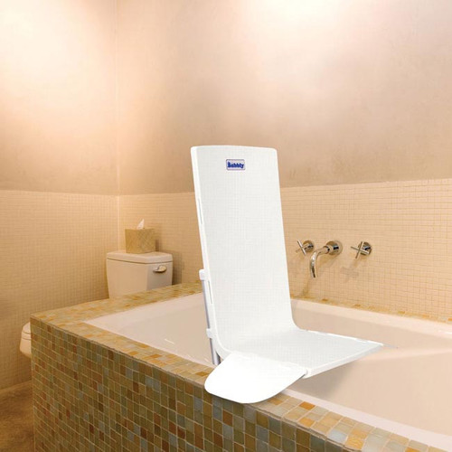 Drive AquaJoy Saver Fixed Back Bathlift *shown in bathroom