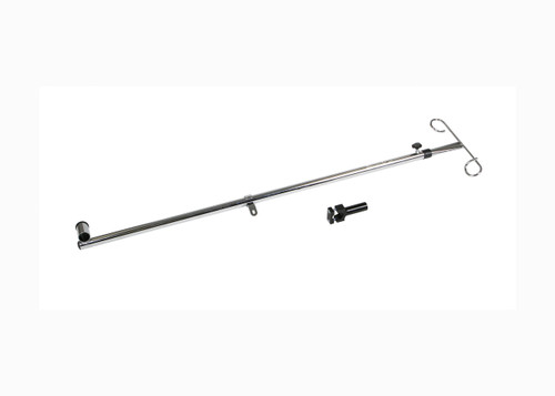 Telescoping IV Pole for Medline Excel Wheelchairs